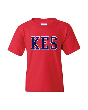 Picture of KES Red Youth T-Shirt