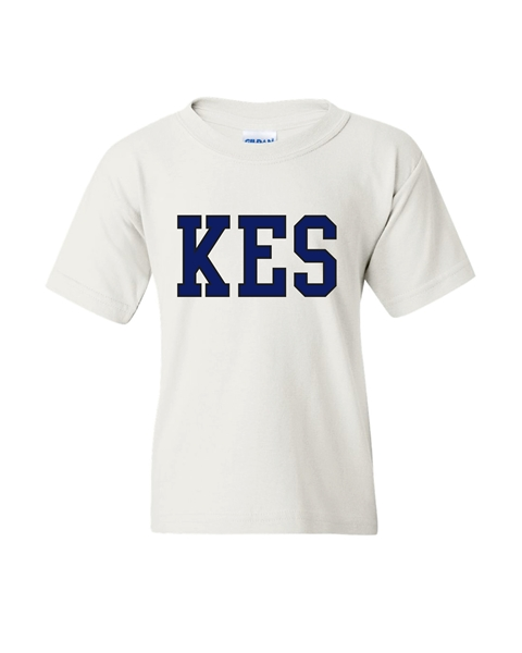 Picture of KES White Youth T-Shirt