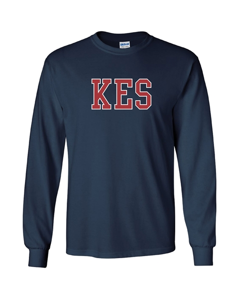 Picture of KES Navy Long Sleeve T-Shirt