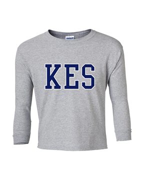 Picture of KES Grey Youth Long Sleeve T-Shirt