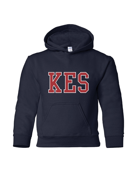 Picture of KES Navy Youth Hoodie