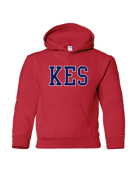 Picture of KES Red Youth Hoodie