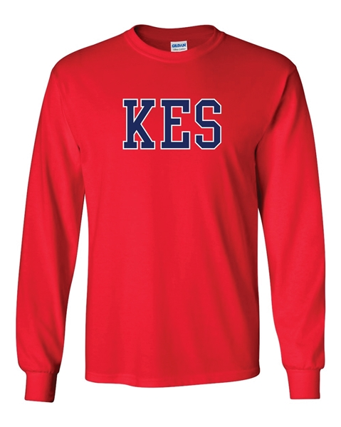 Picture of KES Red Long Sleeve T-Shirt