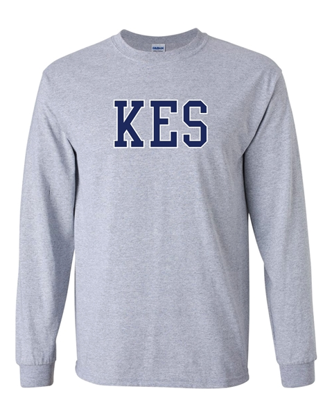 Picture of KES Grey Long Sleeve T-Shirt