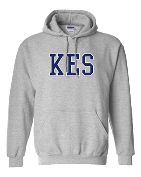 Picture of KES Grey Youth Hoodie